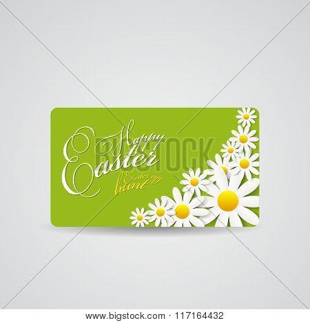 Happy Easter Spring Background Illustration