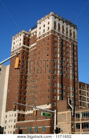 Historic Buildings In Detroit Downtown