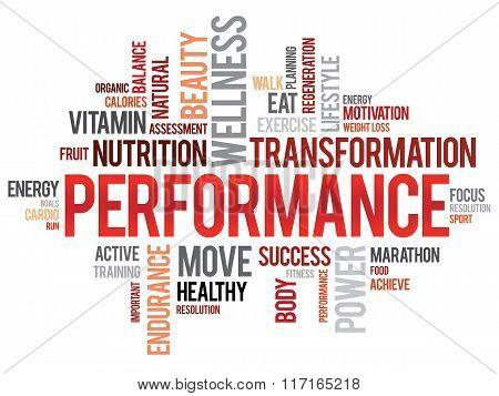Performance Word Cloud
