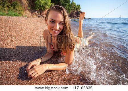 Woman&sea