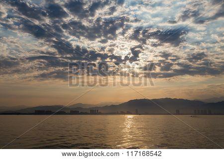 Overcast Sunrise