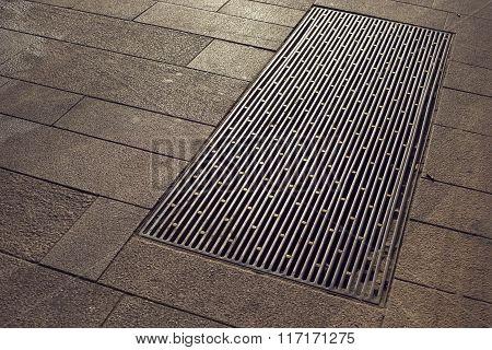 City Pavement Hatch