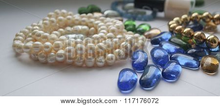 pearls Necklaces.....