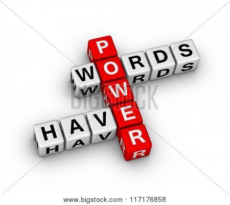 Words have power crossword puzzle