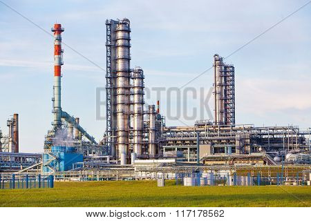 Pipes Of Oil Factory