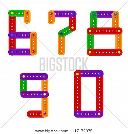 set of numbers from constructor from 6 to 9