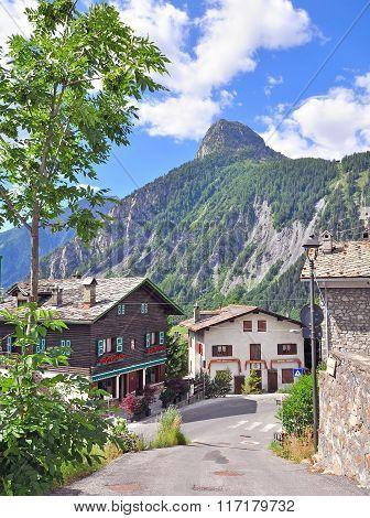 La Palud, Alpine Village, Italy