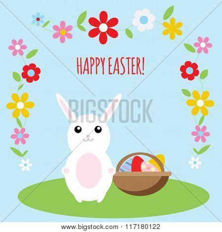 Easter bunny card.ai
