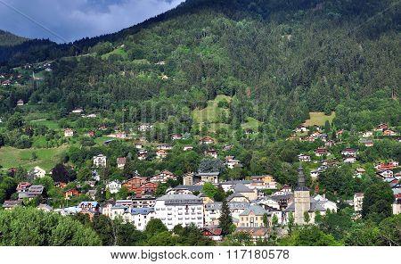 Saint Gervais Town, France