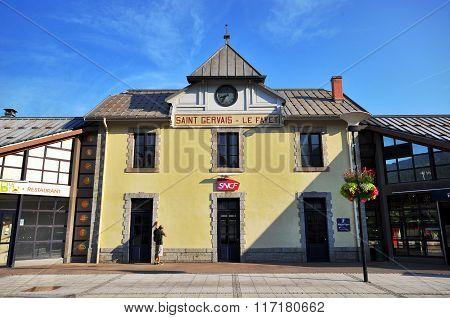 La Fayet Saint Gervais Railway Station