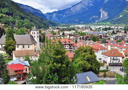 Sallanches City, France