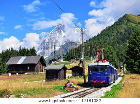 Tramway Of Montblanc, France