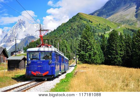 Montblanc Tramway, Haute Savoy, France