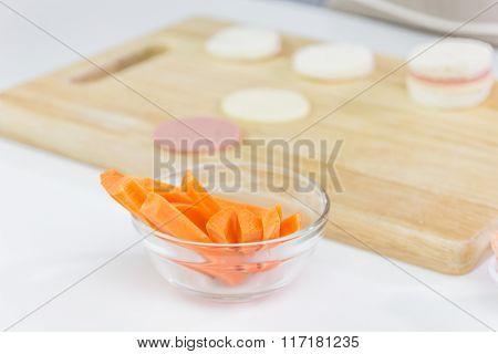 Fresh Sliced Carrot Bread