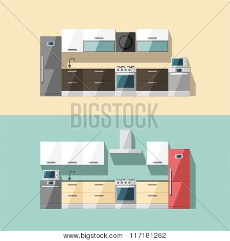 Kitchen Interior Kitchen Furniture Modern Trendy Design