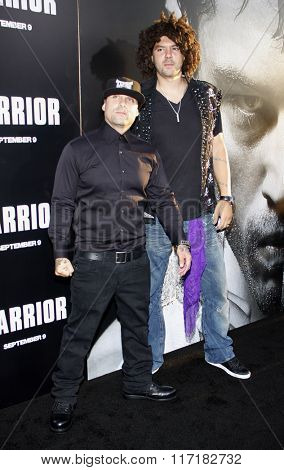 Punkass and Skrape at the Los Angeles premiere of