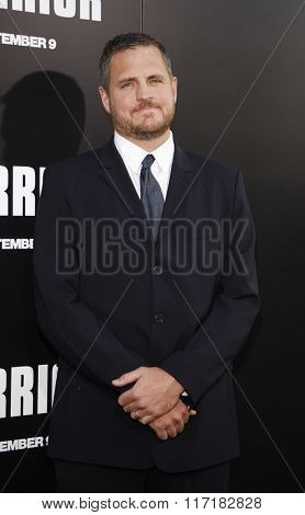 Sam Sheridan at the Los Angeles premiere of