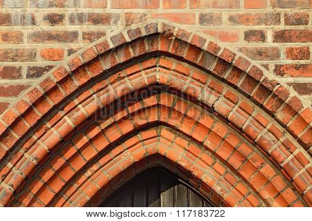 Cathedral Of Koenigsberg. Fragment Of Gothic Architecture Of The 14Th Century