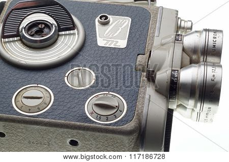 Part Of The Old Dirty Movie Camera