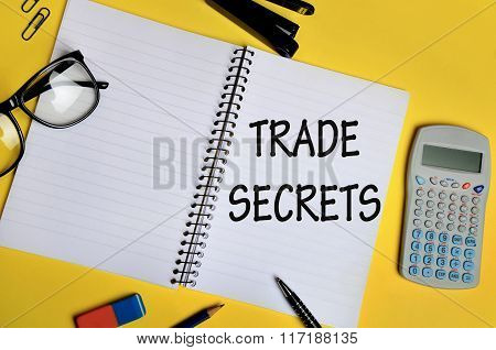 Trade Secrets Words