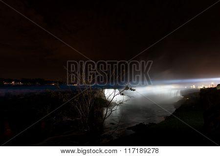 Nocturne Of Niagara Falls