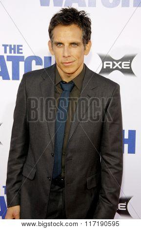 Ben Stiller at the Los Angeles premiere of
