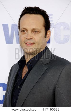 Vince Vaughn at the Los Angeles premiere of