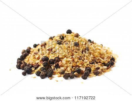 Pile of garlic and pepper seasoning