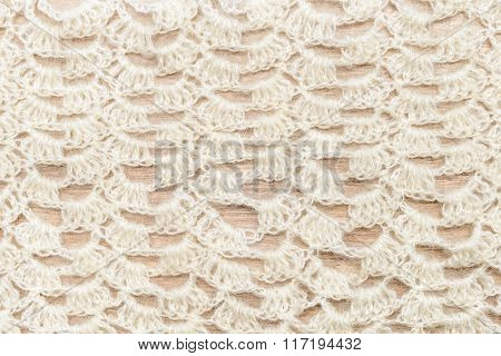 Crochet fabric pattern