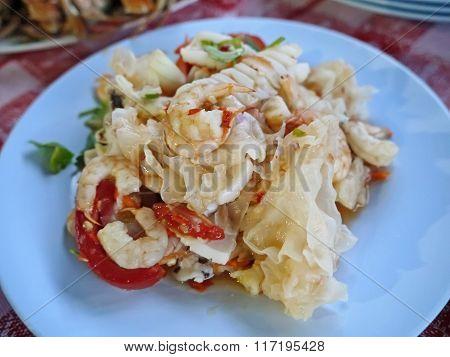 Thai Yummy Seafood Salad(Yum)