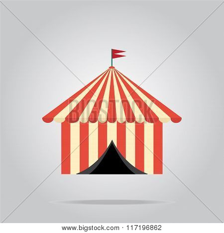 Circus Pavilion,  Tent Icon