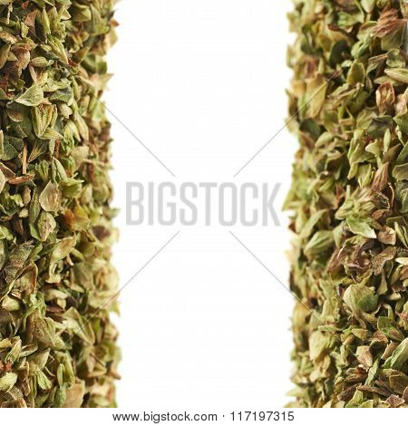 Oregano background composition