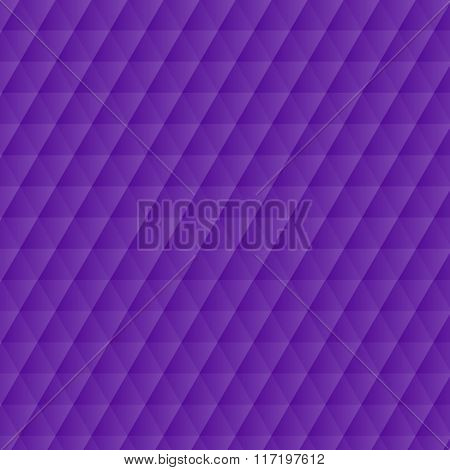 Abstract Violet Geometric Hexagons Pattern Background