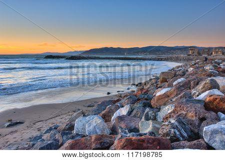 Ventura rocky cove looking north.