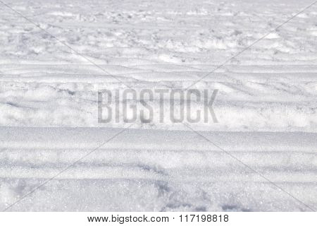 Background Of Snow And Ice.
