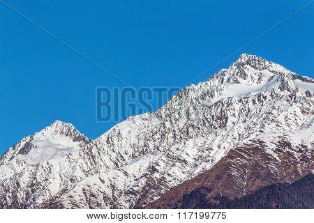 Caucasus Mountains Close Up
