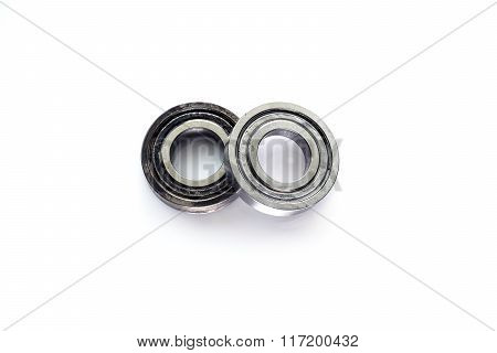 Bearings for parts of industrial machines.