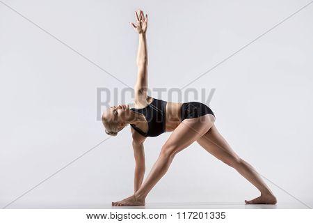 Twisting Triangle Pose