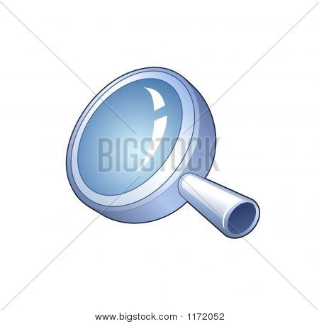 Search Symbol - Detailed Icon Of Magnifying Glass