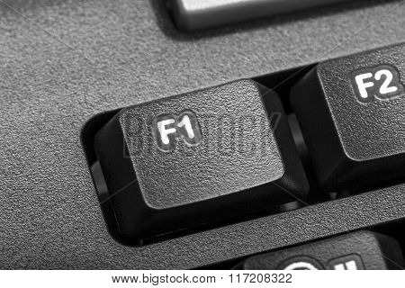 Electronic Collection - Detail Computer Key F1