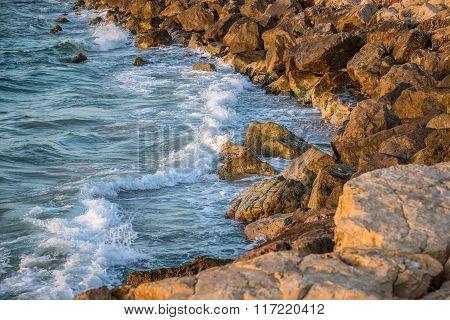 Seashore In Tel Aviv