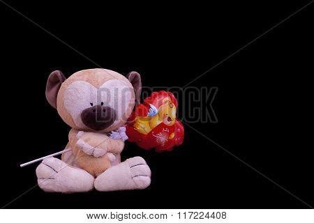 doll monkey hart