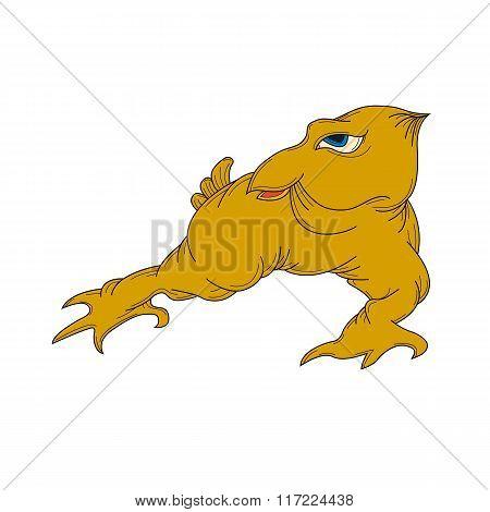 monster mutant bird