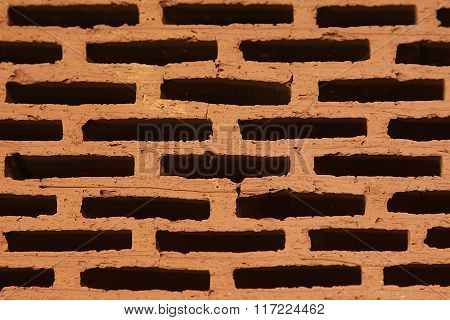 Close-up Of A Brick