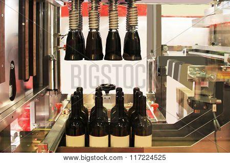 Sealing Of Wine Bottles