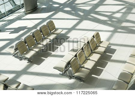 Empty chair waiting for passengers