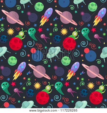 Ufo Cosmos Pattern
