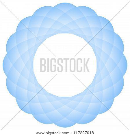 Geometric Mandala Flower