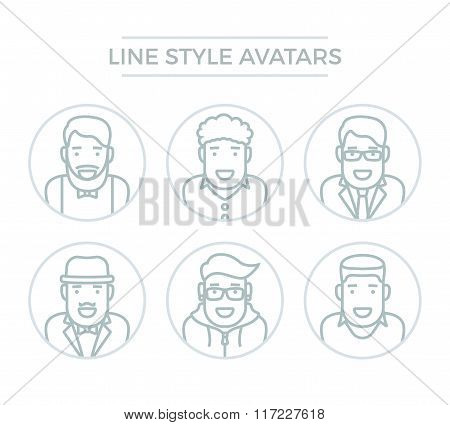 People Line Avatars