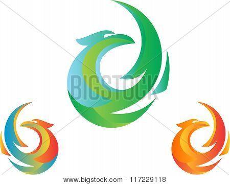 stock logo the bird
